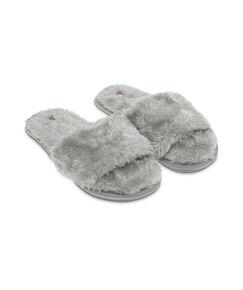 Image of Hunkemöller Huisslippers Fur Top Grijs