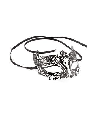Oogmasker Venetian, Zwart
