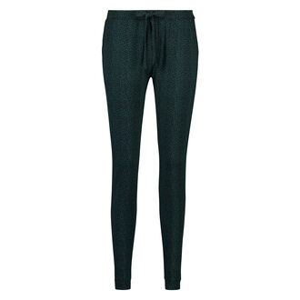 Pyjamabroek Jersey loose fit , Groen