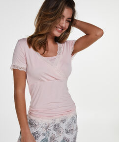 Voedings pyjamaset, Roze