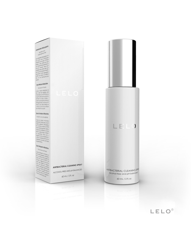 LELO Premium Cleaning Spray 60 ML, Zwart, main