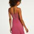 Slipdress Jersey lace Vera, Roze
