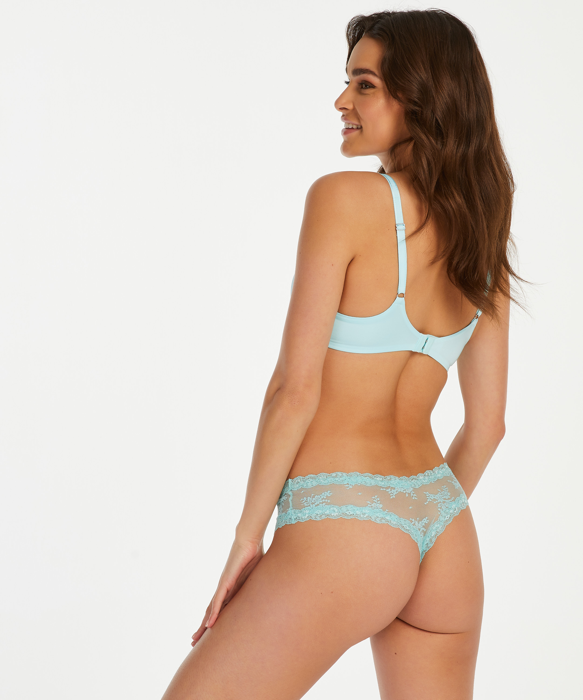 Brazilian V-shape mesh, Blauw, main