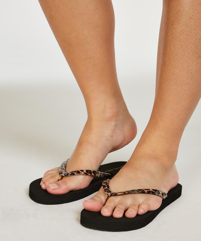 Slippers Fancy, Zwart, main