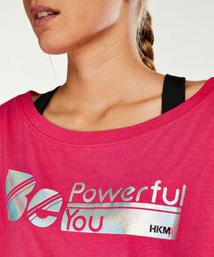 HKMX Sportshirt met korte mouwen, Roze