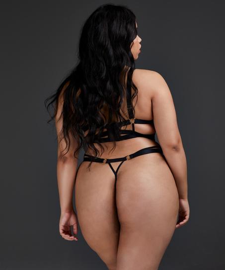 Niet-voorgevormde beugel bh Sadie, Zwart