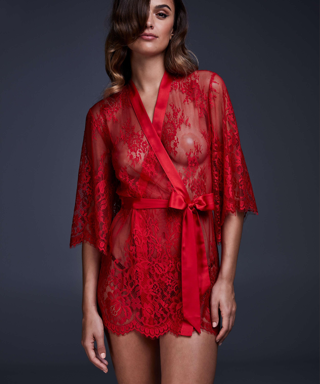 Kimono Lace Isabelle, Rood, main