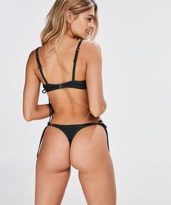 Bikini Croptop Tied Down, Groen