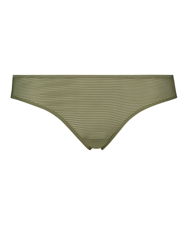 Invisible string Stripe mesh, Groen, main