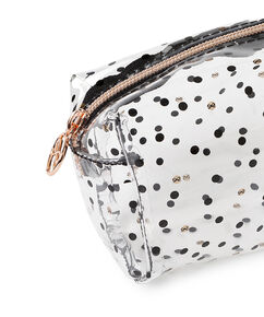 Make-up tas Dot, Zwart