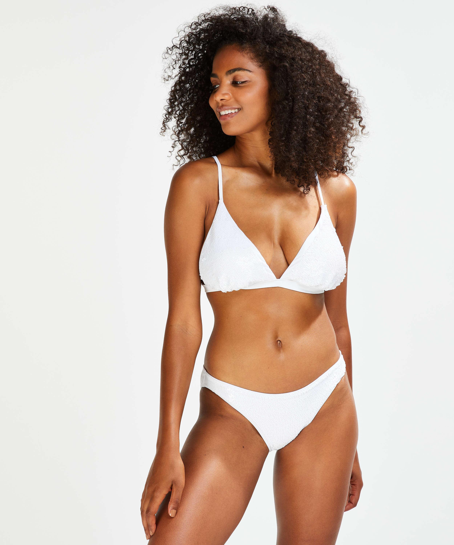 Triangle bikinitop Pride, Wit, main