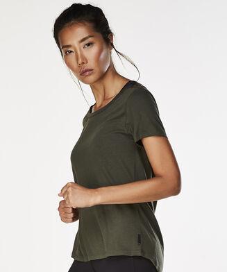 HKMX running shirt short sleeve, Groen