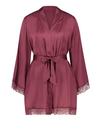 Kimono satin meili, Rood
