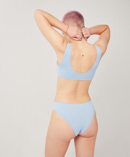 Bralette Bae, Blauw