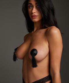 Nipple covers Private Kwast, Zwart