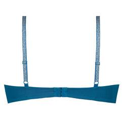 Voorgevormde beugel bh Plunge, Blauw
