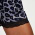 Shorts Velours Lace, Grijs