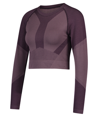 HKMX The Motion Crop Top, Paars