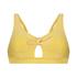 Bikini croptop Carmel, Geel