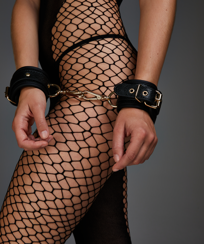 Handboeien Snake , Zwart, main