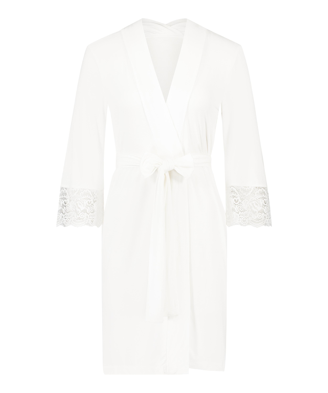 Kimono Vera Lace, Wit, main