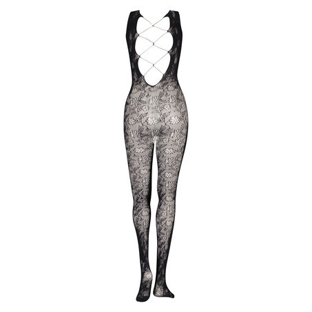 Panty Catsuit Private, Zwart