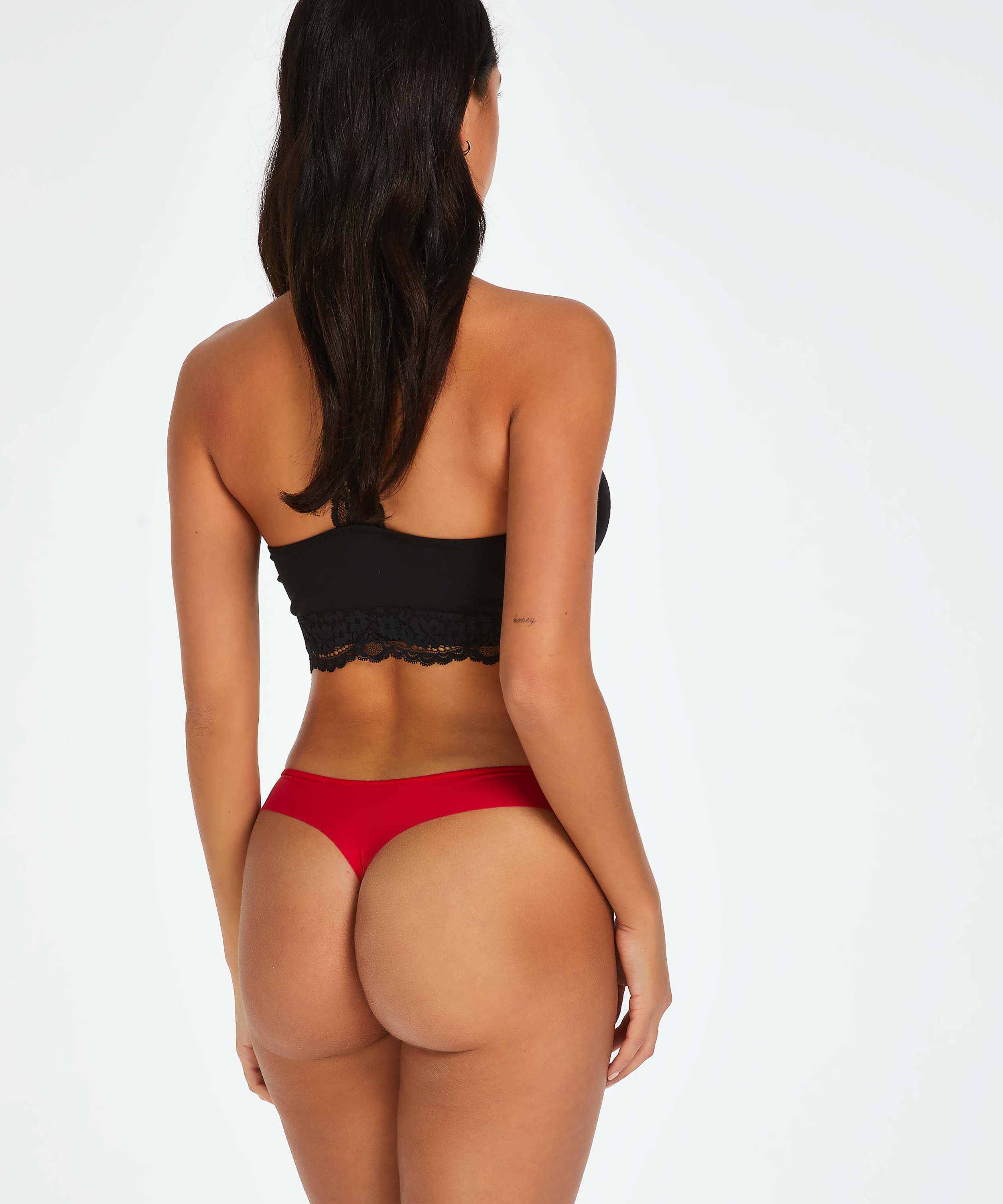 Invisible string Stripe mesh, Rood, main