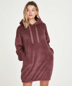 Snuggle Fleece Jurk Oodie, Roze