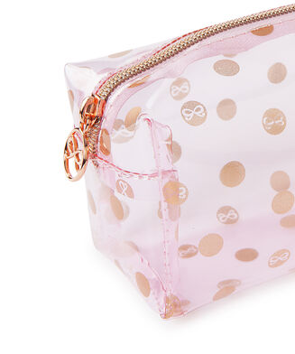 Make-up tas Dot, Roze
