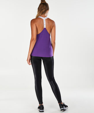 HKMX Sporttop Strappy Racerback, Paars