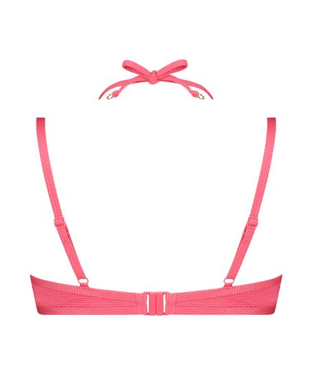 Voorgevormde beugel bikinitop Ruffle Dreams, Roze