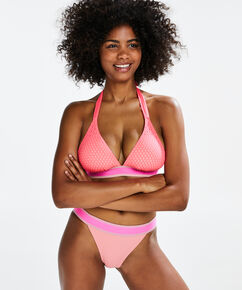 Tanga bikinibroekje Flash Dance, Roze