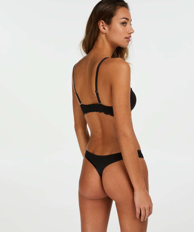 2-pack strings Angie, Zwart, main