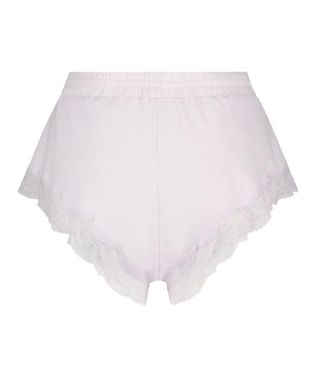 Short rib lace Mia, Paars