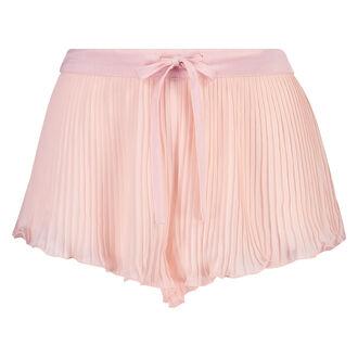 Short Chiffon Pleats, Roze