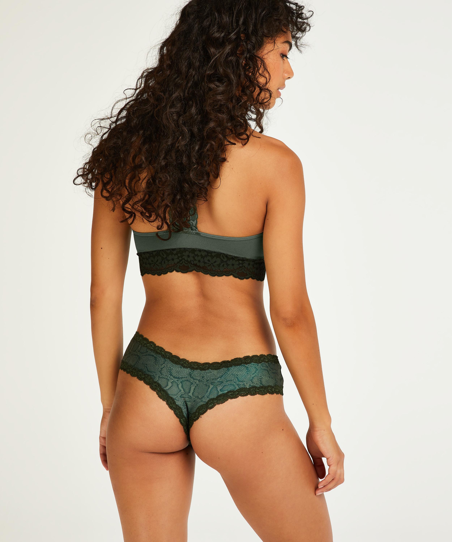 V-shape micro brazilian, Groen, main