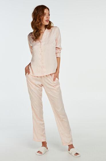 Hunkemöller Pyjamabroek Satin Roze
