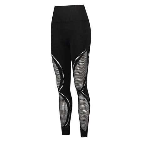 HKMX High waist naadloze sportlegging Comfort, Zwart