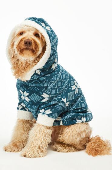 Hunkemoller Fleece honden onesie Blauw