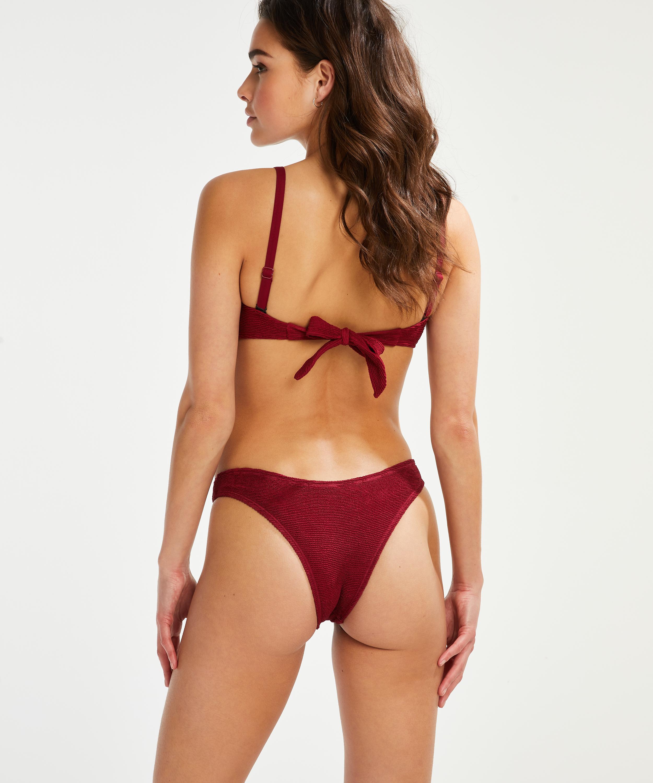 Voorgevormde bandeau bikinitop Indio Hills, Rood, main