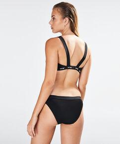 HKMX Laag rio bikinibroekje closure, Zwart