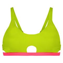 Bikini croptop New Wave, Geel