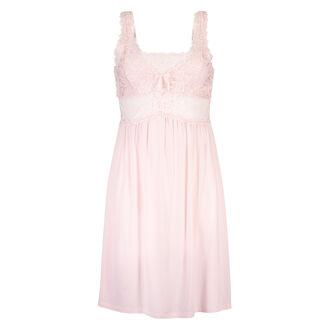 Slipdress Modal Lace, Roze