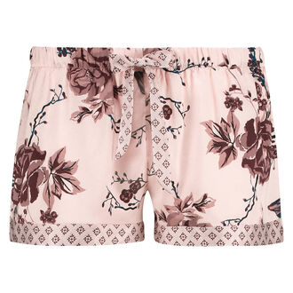 Pyjama short Satin, Roze