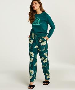 Pyjamabroek Woven, Grijs