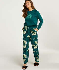 Pyjamabroek Lotus Bird, Grijs