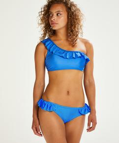 Croptop bikinitop Suze, Blauw
