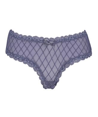 Brazilian V-shape mesh, Blauw