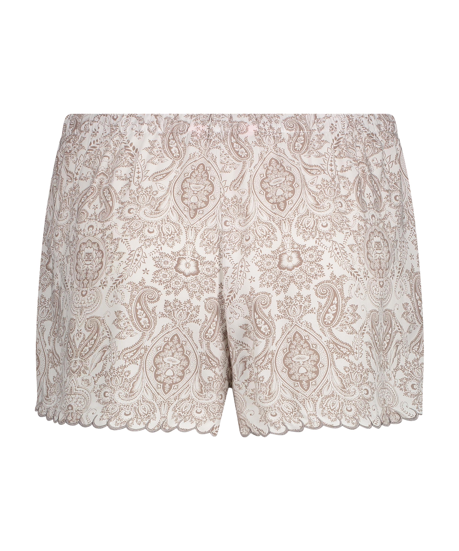 Pyjama shorts, Wit, main