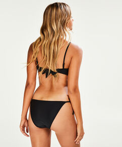 Bandeau bikinitop Haze, Zwart